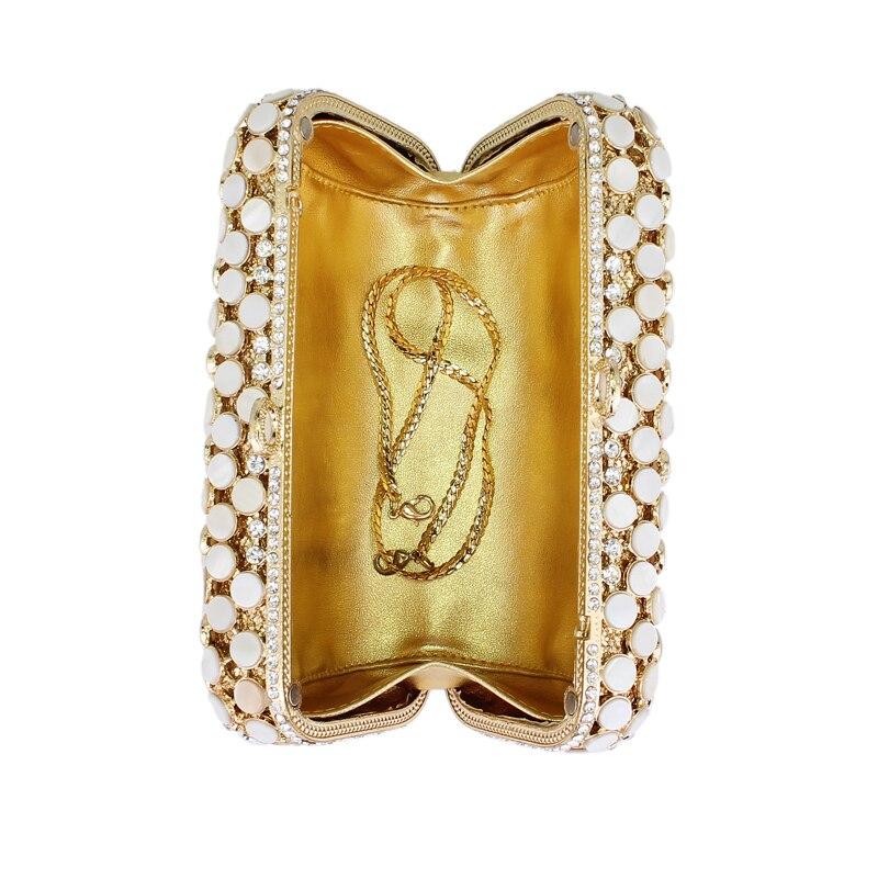Cristal Métal Diamant 0314 Embrayages Noce Embrayage Sacs Bourse À Soirée Femmes Strass Dame Main De Nuptiale Or Sac hs wgqdqcFI