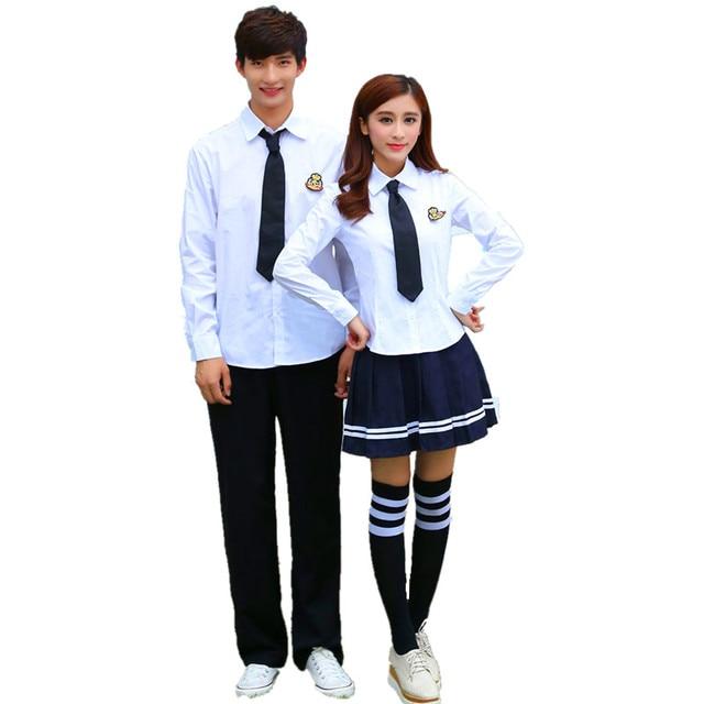 Aliexpress.com : Buy Korean School Uniforms White Shirt