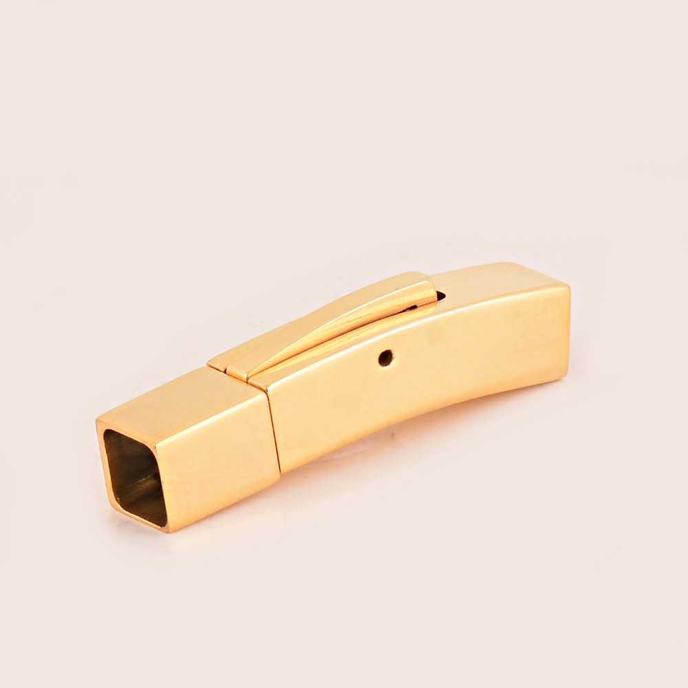 Stainless Steel clasp,jewelry makings for leather bangle,high quality polished plating DIY findings Magnetic Clasps
