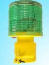 Green solar warning light warning flash at night More than 50 items for sale