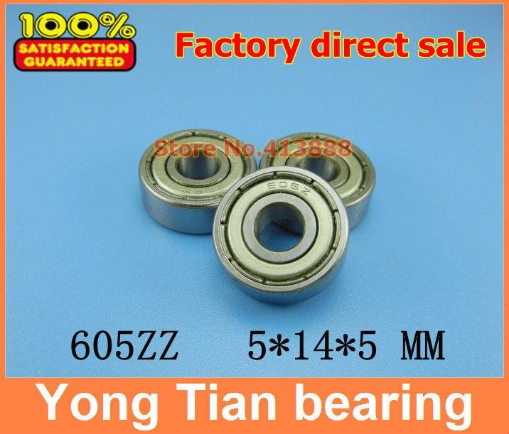 Прямая с фабрики 605Z 605ZZ 605-2RS S605ZZ S605-2RS R-1450HH 80015 5*14*5 мм Высокое качество миниатюрный глубокий шаровой подшипник