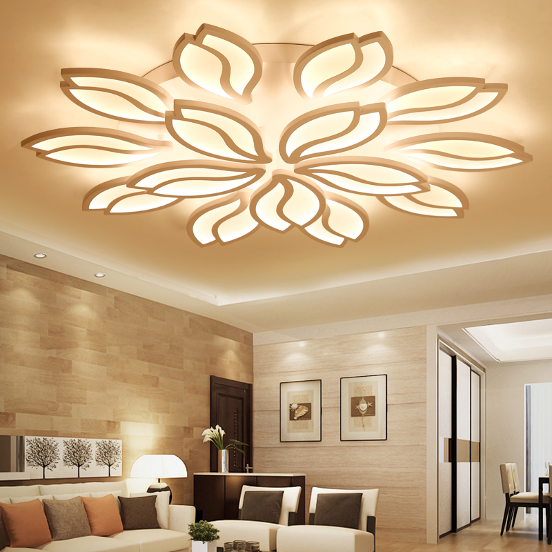 Modern Smart led ceiling lights decoration Smart living room Acrylic surface mounted room decorated lighting fixtures