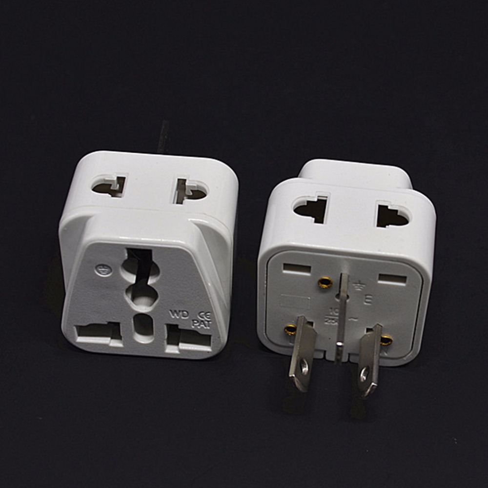 Australian/China type I Travel Adapter 2 Way Outlet Power Plug Change US/EU/UK/Swiss/Italy/Japan to AU 3 Pin
