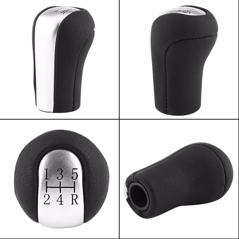 5 Speed Car Auto Gear Shift Knob Shifter Knob Stick Head Insert Replacement  For Toyota Corolla/Verso/RAV4/Aygo Car-Styling