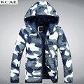 Homens parka inverno Engrossar Amantes jaqueta Camuflada amassado Tamanho grande de algodão-acolchoado jacket casacos Frete grátis S-3XL