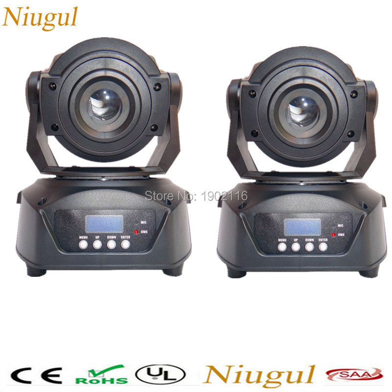 2pcs/lot 90W LED Gobo Moving Head Light 3 Face Prism DMX Controller for Stage Theater Disco Nightclub Party led patterns lights lot 2 90 lot 3 60 g700 sop28