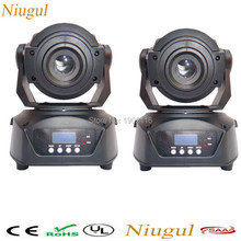 2pcs/lot 90W LED Gobo Moving Head Light /3 Face Prism DMX Controller For Stage Theater Disco Nightclub Party LED Patterns Lights