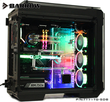 Barrow Acrylic Board Water Channel Solution kit use for Tt View 71 TG/TG RGB Case / CPU and GPU Block Instead reservoir
