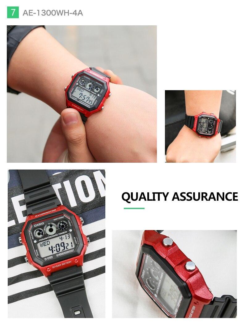 Casio Ae 1200whd 1a Digital Waterproof Watch Ebest Express Online World Time Original 100