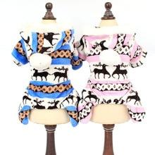 Классическая одежда для домашних кошек, костюм для осени и зимы, теплая флисовая толстовка с капюшоном и рисунком котенка, Рождественский праздничный костюм для питомца, костюм для щенка