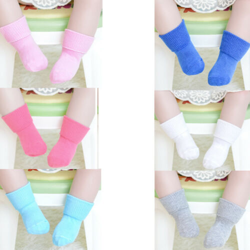 Baby Toddler Boy Girl Socks New Fashion Solid Color Cotton Summer Socks Casual Breathable Soft Multicolor Unisex Socks 0-6Y