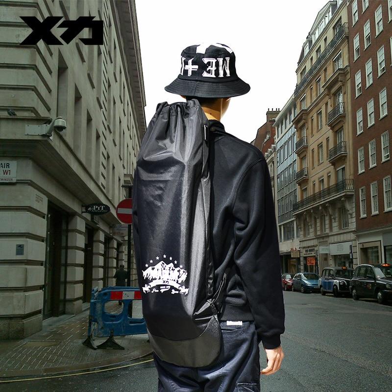 MACKAR Pro Skateboard Backpacks 85x30cm 420D/83x24cm 1000D Cruiser Board Bags Men Double Rocker Back Packs