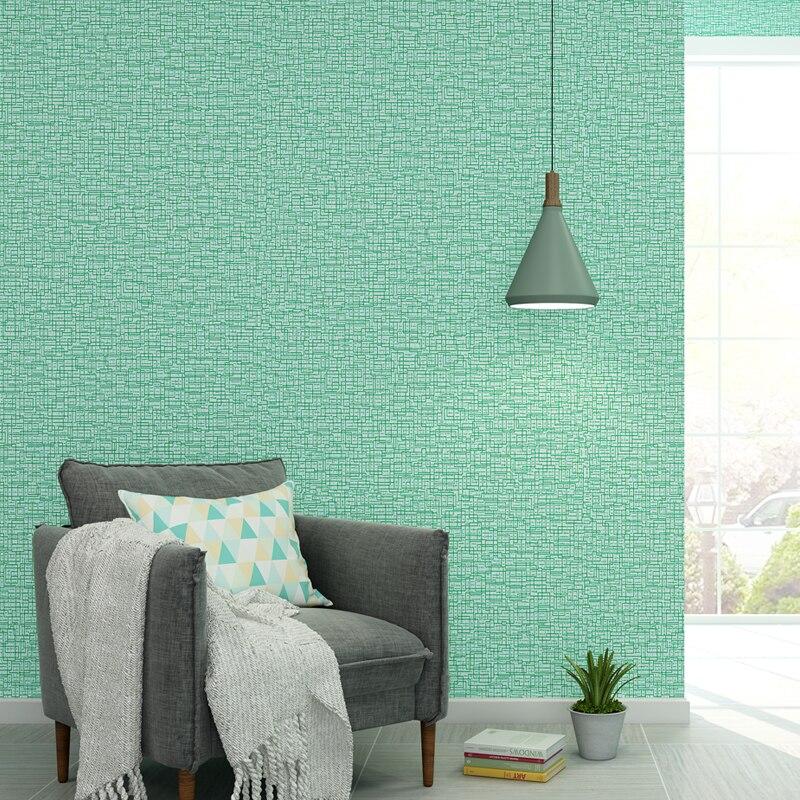 Hijau Mint Biru Langit Nordic Kertas Dinding Dekorasi Rumah Warna Solid Polos In Wallpaper Roll untuk