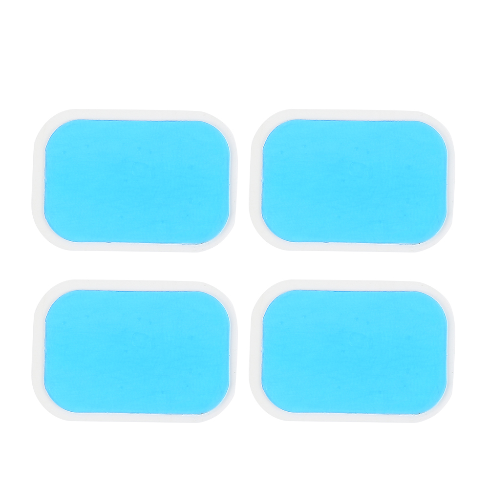 10PCS Muscle Stimulator Replecament Gel Stickers High Adhesion Silicone Hydrogel Hydrogel Pads For EMS Abdominal Trainer