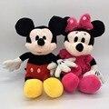30 см Микки Маус И Минни Маус Плюшевые Игрушки Чучела Рождественские Игрушки Куклы