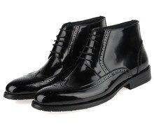2017 мода на кофе/черный мужские oxfords обувь ботильоны натуральная кожа платье обувь мужская свадебные туфли бесплатная доставка