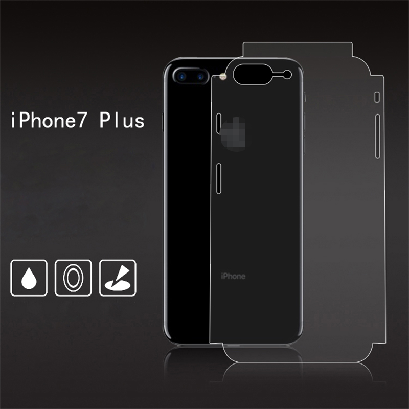 For iPhone 8 7 plus Full screen coverage HD Clear Screen Protectors Back