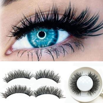 3D Double Magnetic False Eyelashes