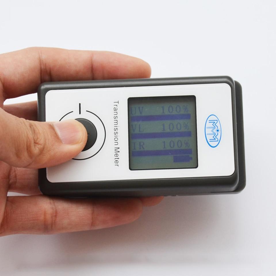 Portable Solar Film Transmission Meter Tester Window Tint Light Transmittance Meter JN 950