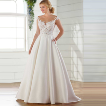 0ab108b0f2 Buy simple modern wedding dresses and get free shipping on ...