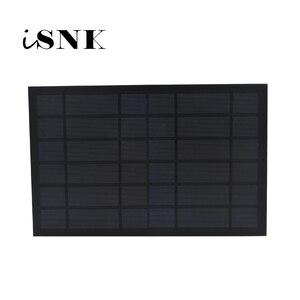 Image 1 - 6 فولت 1670mA 10 واط 10 واط لوحة طاقة شمسية القياسية الايبوكسي الكريستالات السيليكون لتقوم بها بنفسك بطارية الطاقة تهمة وحدة صغيرة الخلايا الشمسية لعبة