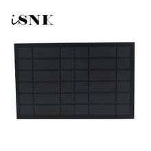 6V 1670mA 10Watt 10W GÜNEŞ PANELI standart epoksi polikristal silikon DIY pil güç şarj modülü Mini güneş pili oyuncak
