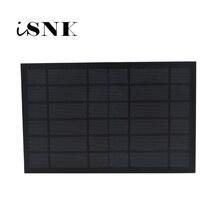 6V 1670mA 10Watt 10W standardowe panele solarne epoksydowe polikrystaliczne krzemu DIY moduł ładowania baterii Mini...