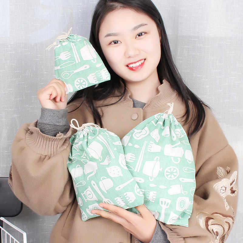 2019new in họa tiết trái cây Vải dây dây ba kích thước mua sắm Túi bé gái Phụ Nữ Thông Minh dạng ví túi xách túi cả bán