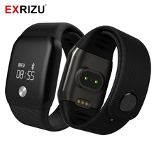 EXRIZU A88 Smart Watch Blood Pressure OLED Touch Screen Waterproof Heart Rate Monitor Smartwatch Health Bracelet