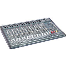 MICWL YU3516 16 Channel 3-Band EQ Audio Music Mixer Mixing Console with USB XLR LINE 48V Phantom Power for Stage TV yuepu ru 8ts professional sound audio mixer 8 channel 48v phantom power reverbration mixing console player usb music for dj