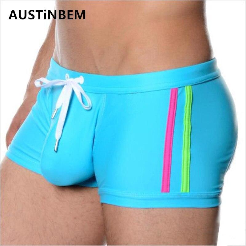 Evan Fordd Brand Swimwear Breathable Nylon Mens Swimsuits Swim Trunks Boxer Briefs Sunga Swim Suits