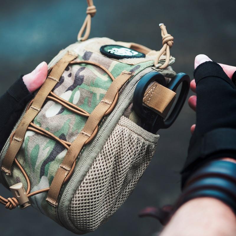OneTigris First Aid Trauma Pack Medical Kit Quick Detach EMT/First Aid Pouch Tactical Cordura Nylon Multicam Trauma Pouch Bag
