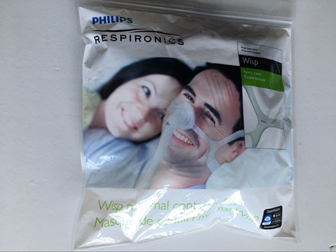 Image 5 - New Wisp Minimal Contact Mask Nasal Mask with Fabric Frame Breathing Apparatus For Sleep Apnea Nasal Anti Snoring-in Sleep & Snoring from Beauty & Health