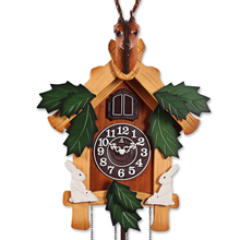 Apex fashion wall clock photoswitchable cuckoo clock cartoon fashion timekeeping clock and watch