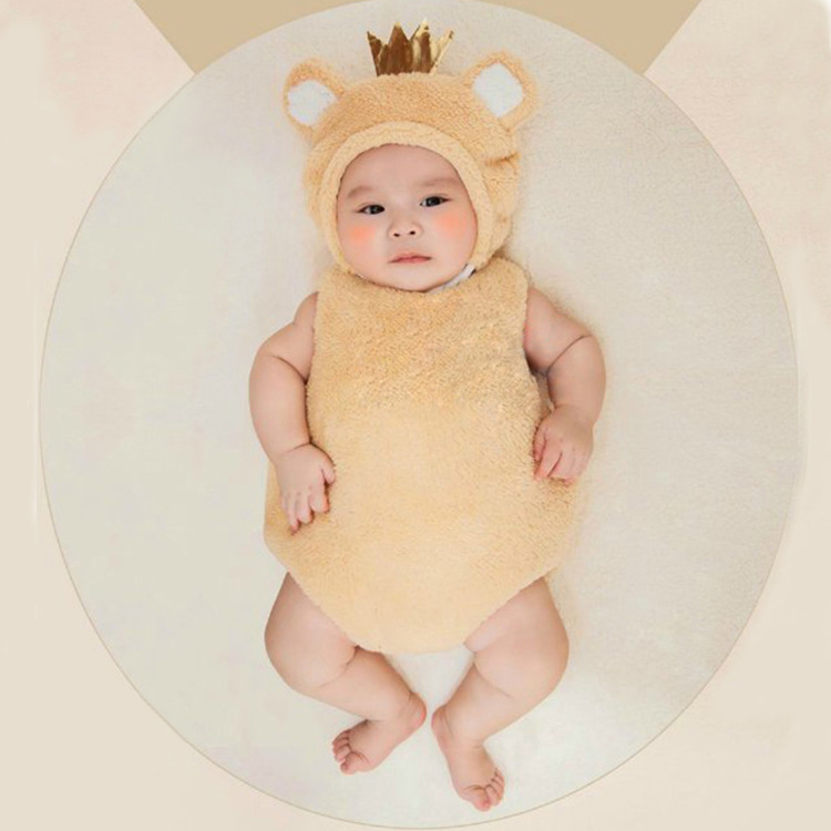 Halloween Christmas cosplay costume Shaun baby party costume photograph dress sheep animal cartoon suit costume for kids