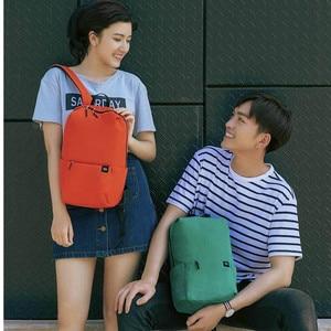 Image 4 - Original Xiaomi Mi sac à dos 10L sac coloré loisirs urbains décontracté sport poitrine Pack sacs hommes femmes petite taille épaule Unise H30