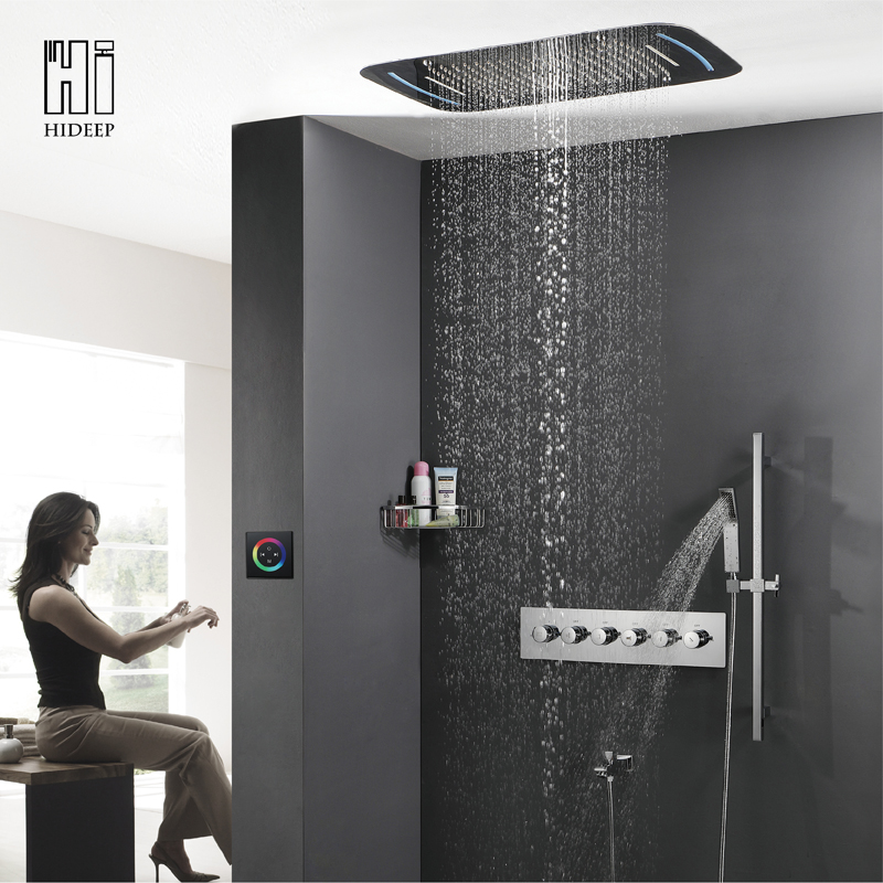 with is head rainfall sent cool rain ceiling shower tile vertical bathrooms the pebble and pin beautiful