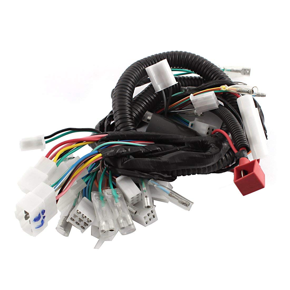 small resolution of motorcycle ultima complete system electrical main wiring harness for gs