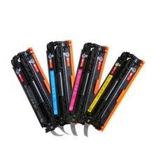 Compatible cb540a cb540 540a 540 cb541a cb542a cb543a 125a cartucho de tóner de color para hp laserjet cp1215 cp1515n cp1518ni cm1312