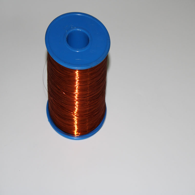 Diameter 1 00 mm Class 180C Enameled Copper Magnet Wire Polyester imide winding round copper wire