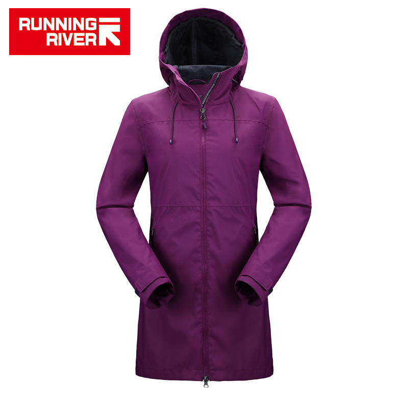 RUNNING RIVER Brand Women Hiking Jacket 4 Colors Size 36 - 46 High Quality Waterproof Jacket For Woman Outdoor Clothes #K8361 running river brand winter thermal women ski down jacket 5 colors 5 sizes high quality warm woman outdoor sports jackets a6012