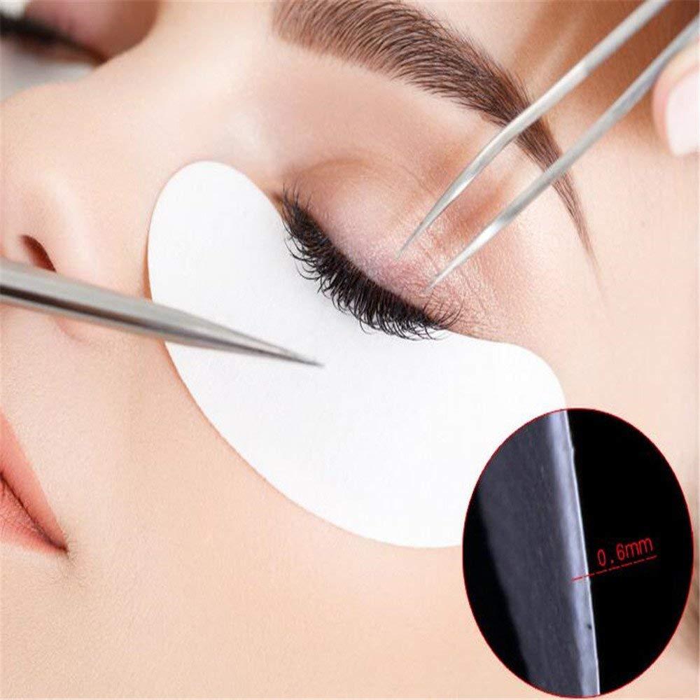 50 Pairs Eyelash Extension Patch Under Gel Eyelash Pads Eye Tips Sticker Wraps Lint Free Patches