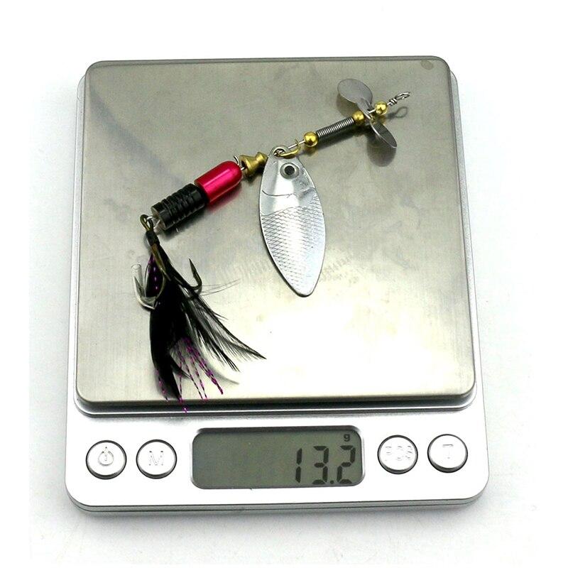 YeMuLang 1Pcs 10cm 13g Metal šljokice Ribolov mamac žlica Loša - Ribarstvo - Foto 6