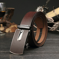Fashion Designers Men Automatic Buckle Leather Luxury Belts Business Male Alloy Buckle Belts For Men Ceinture