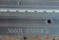 PARA Haier LE32A50 backlight 3660L-0386A 81 48LED NW1019B PARA LG LC320EXN tela 1 piece = 350 MM