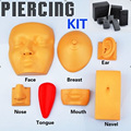 Hot Selling Piercing Practise Kits 7pcs/Kits Free Shipping Best Kits for beginner free shipping