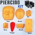 Venda quente Piercing Kits 7 pcs prática / Kits frete grátis melhor Kits para iniciantes frete grátis