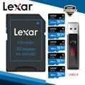 Lexar 633x tf cartão classe 10 256 gb micro leitor de cartão sd 64 gb cartões de memória 128 gb adaptador de armazenamento 256 gb leitores usb 32 gb marca