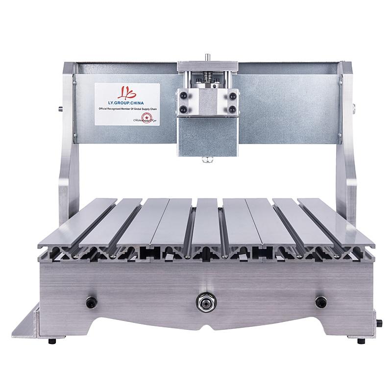 Mini cnc machine cadre 3040 graveur bois routeur nema23 moteur pas à pas vis à billes