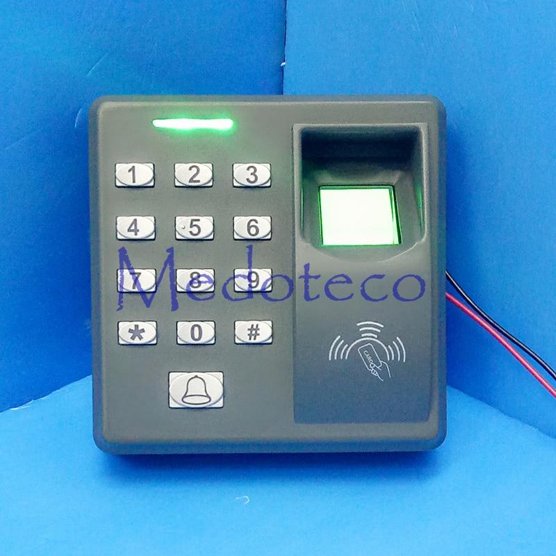 ФОТО Cheap Fingerprint + rfid Card + Pin Door Access Control Biometric Door Opener Door Security Access
